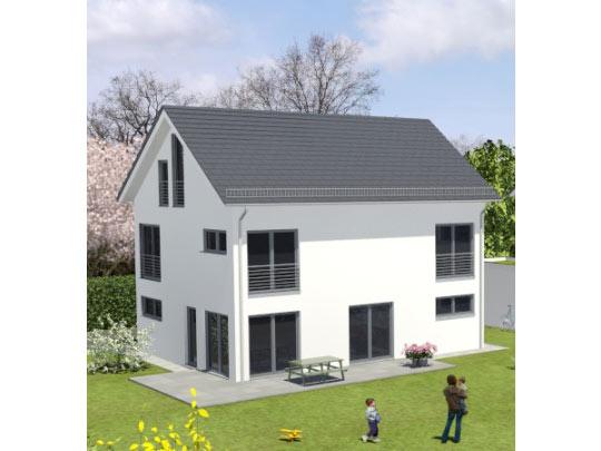 Neubau hochwertiges einfamilienhaus in buchenhain for Raumaufteilung einfamilienhaus neubau
