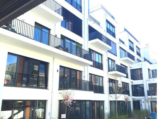 Modernes Stadthaus nahe Prinzregentenplatz