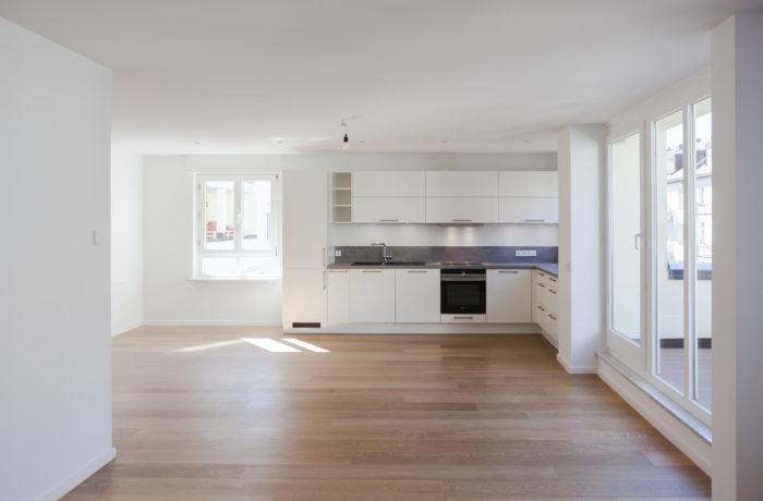 Luxus-Dachgeschoss-Wohnung mit Balkon in absolut ruhiger Bestlage München/Lehel