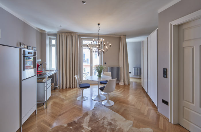 Luxus Studio-Appartement mit Süd/West-Balkon am Pariser Platz München-Haidhausen