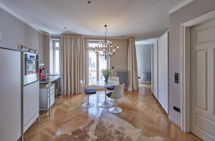 Luxus Studio-Appartement mit Süd/West-Balkon am Pariser Platz München-Haidhausen