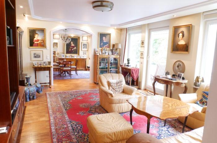 Exklusive 4-Zimmer-Wohnung mit S/W-Balkon in Bestlage München-Lehel